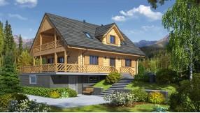 Holzhaus mit Dachgeschoss zh120-397