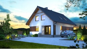 Fertighaus mit Dachgeschoss zf114-420