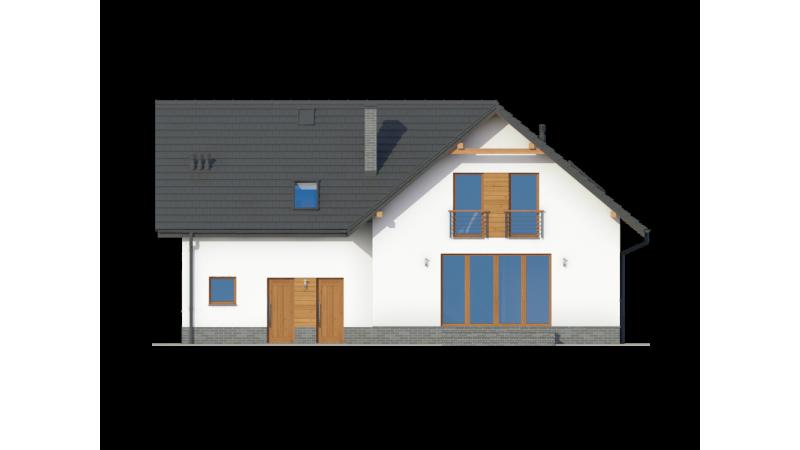 Fertighaus mit Dachgeschoss mit Montage