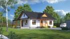 Bungalow Holzhaus Fertighaus