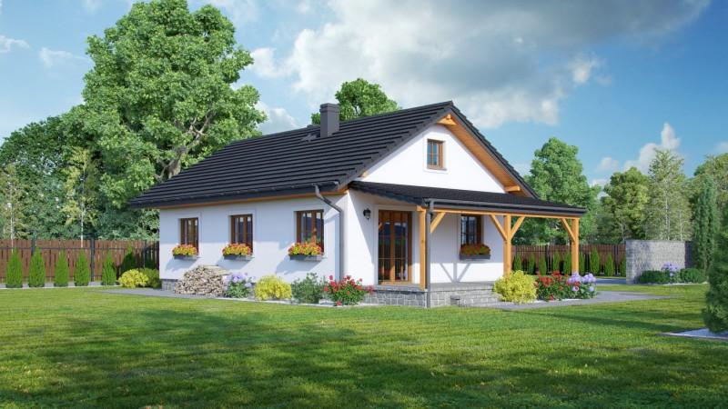 eingeschossige Holzhäuser Bausatzhäuser.