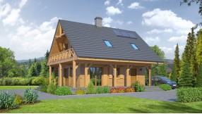 Holzhaus mit Dachgeschoss zh89-826
