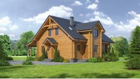 Holzhaus mit Dachgeschoss zh125-865