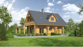 Holzhaus mit Dachgeschoss zh98-903