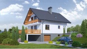 Fertighaus mit Dachgeschoss zf114-1008