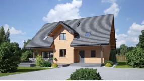 Holzhaus mit Dachgeschoss zh183-1232