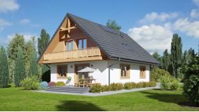 Fertighaus mit Dachgeschoss zf125-1311