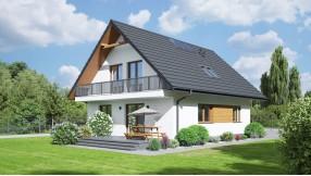Fertighaus mit Dachgeschoss zf119-1334