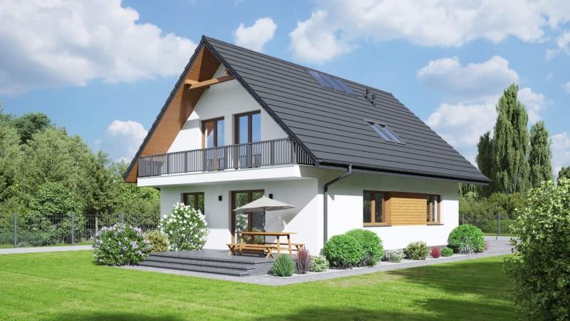 Holzhaus, Fertighaus