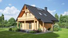 Holzhaus mit Dachgeschoss