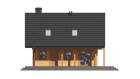 Winterfestes Holzblockhaus