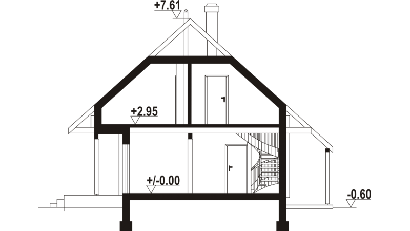Bausatzhaus mit Montage