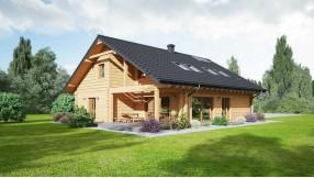Holzhaus Blockhaus zh164-1303