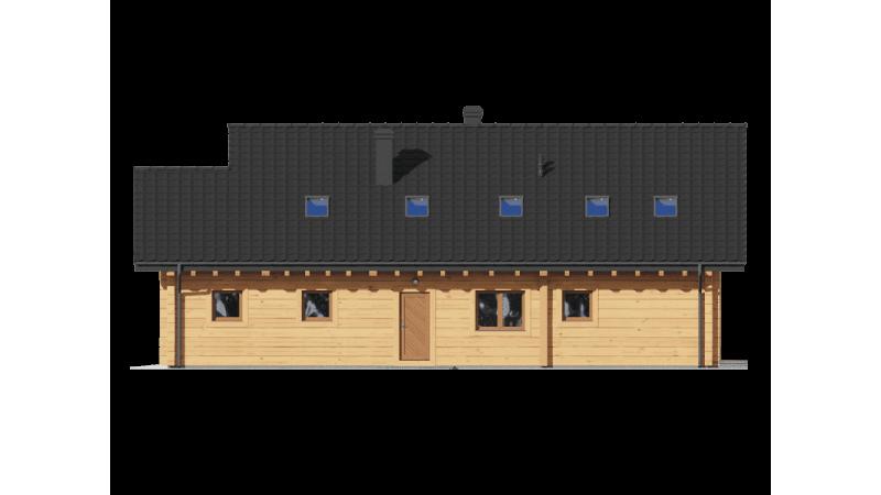 Holzhaus, Blockhaus bauen