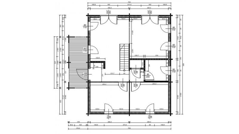 Holzhäuser, Blockhäuser, Ferienhäuser mit Montage.