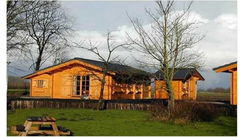 Holzhäuser Fertighäuser Produktion aus Polen.