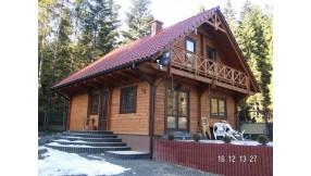 Blockhaus Wohnhaus Bystra - D02