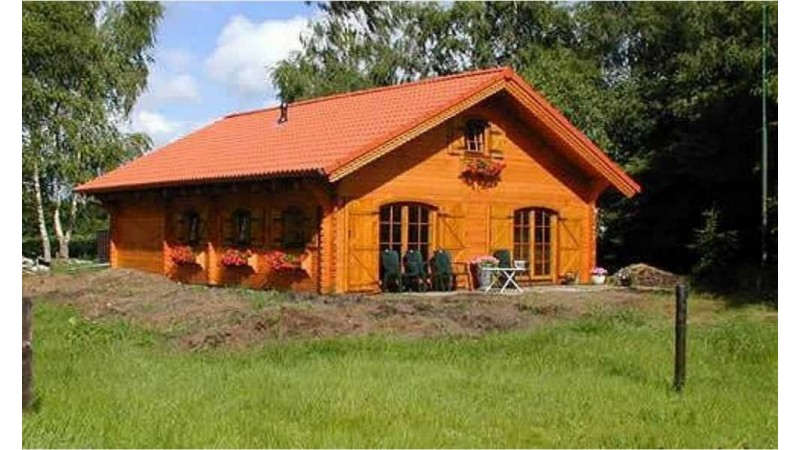 Blockhaus Wohnhaus Bystra - D16