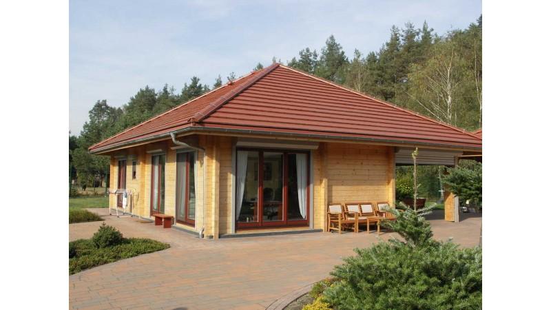 einstöckige Holzhäuser Bungalow