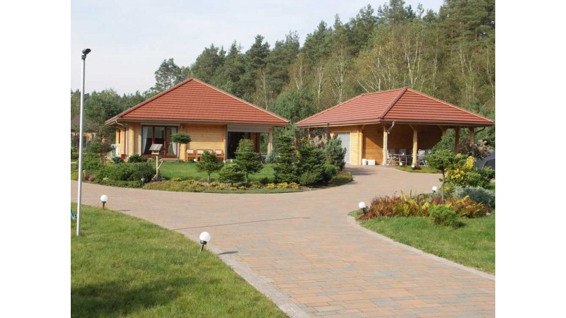 Holzhäuser Wohnhäuser Bungalow