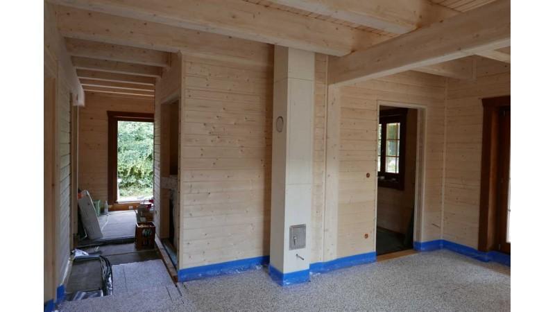 Holzblockhaus,