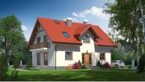 Fertighaus mit Dachgeschoss zf152-305
