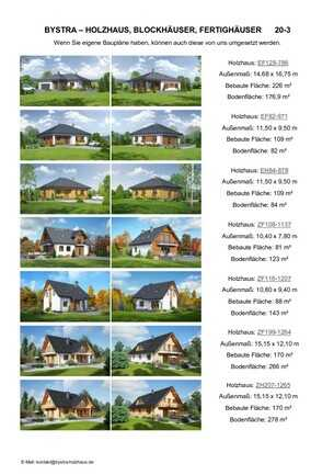 Holzhaus Fertighaus Katalog PDF