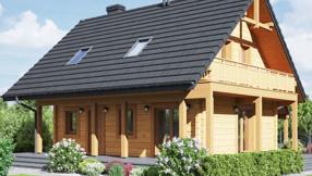 Blockhaus, Wandaufbau Holzhäuser